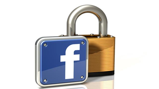 Lock Icon: Facebook